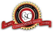 Consultative Sales Certification - Get CSC!